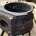 large fabricated gear box