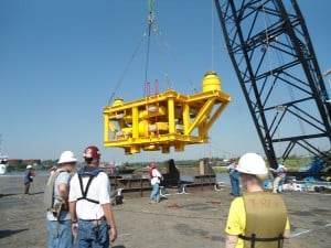 dnv lifting operation deck
