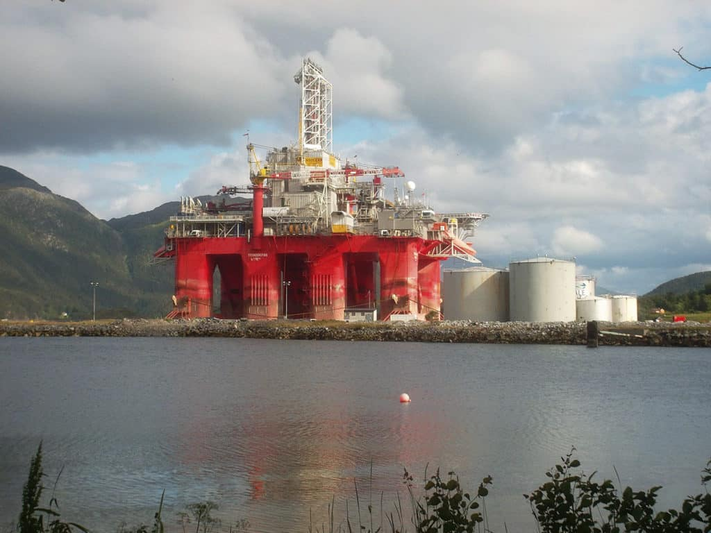 transocean drilling rig