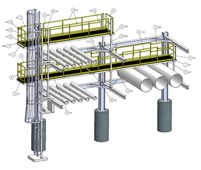houston piping fabricator